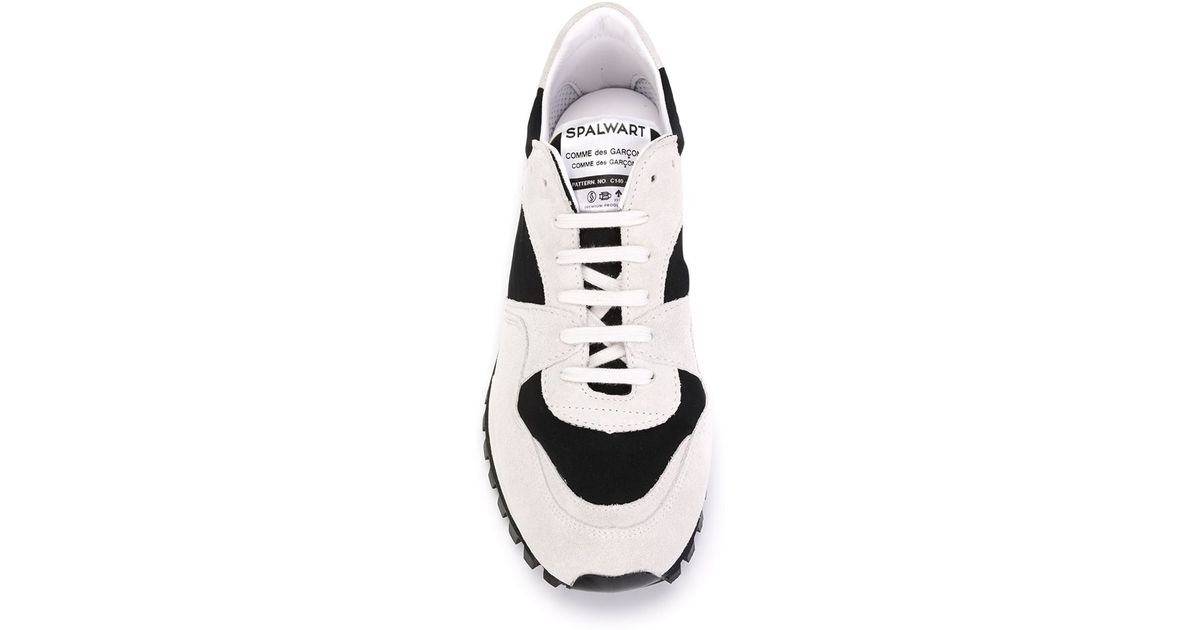 c4933716ec09 Comme des Garçons Spalwart X Cdg Cdg Panelled Sneakers in Natural - Lyst