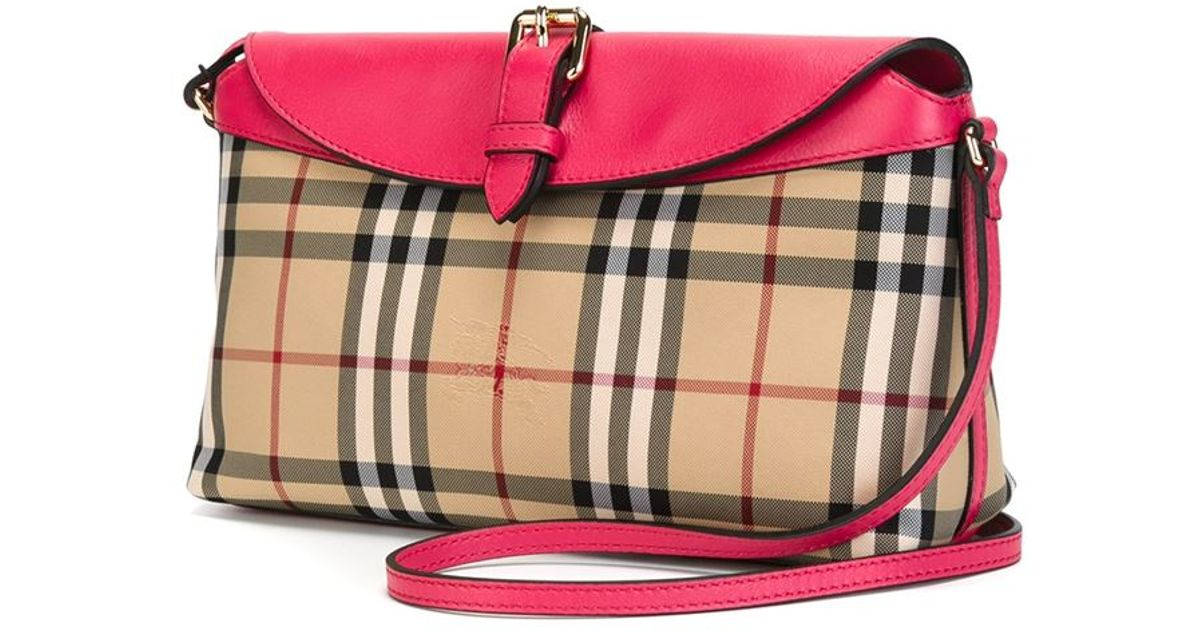 Burberry Multicolor Small Horseferry-Check Cross-Body Bag