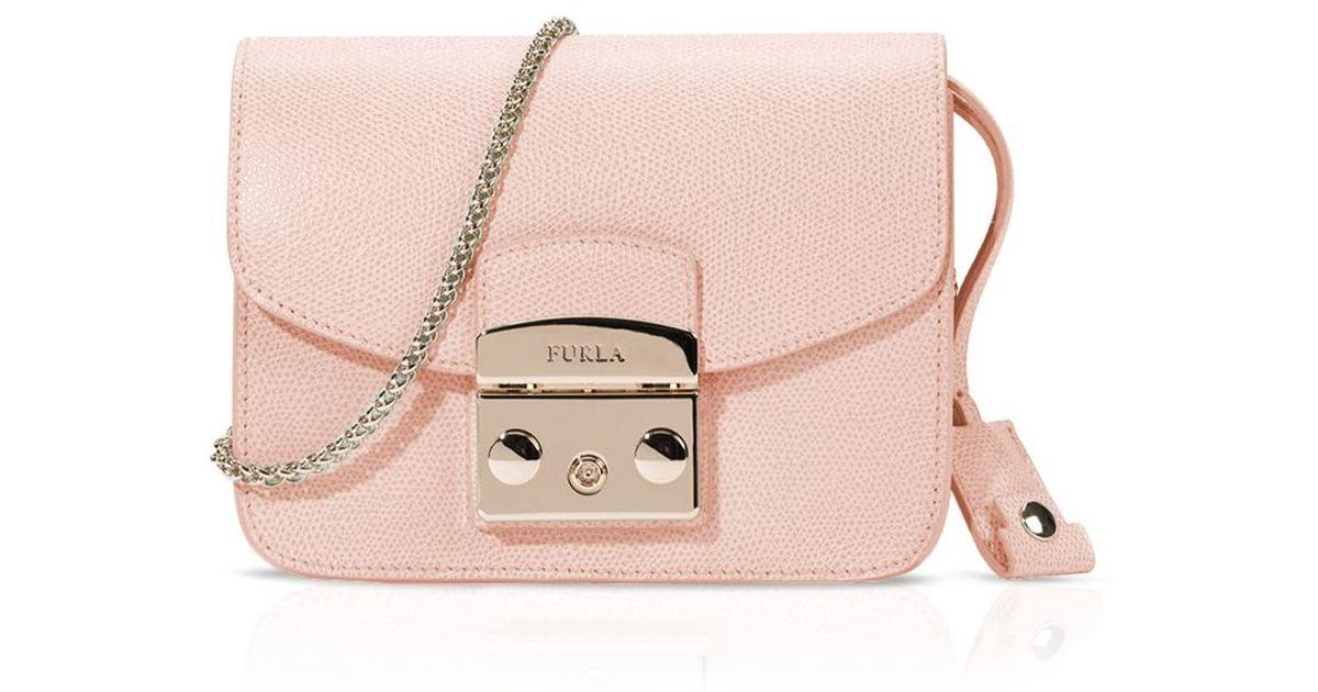 Lyst - Furla Crossbody Bag - Metropolis Mini in Pink