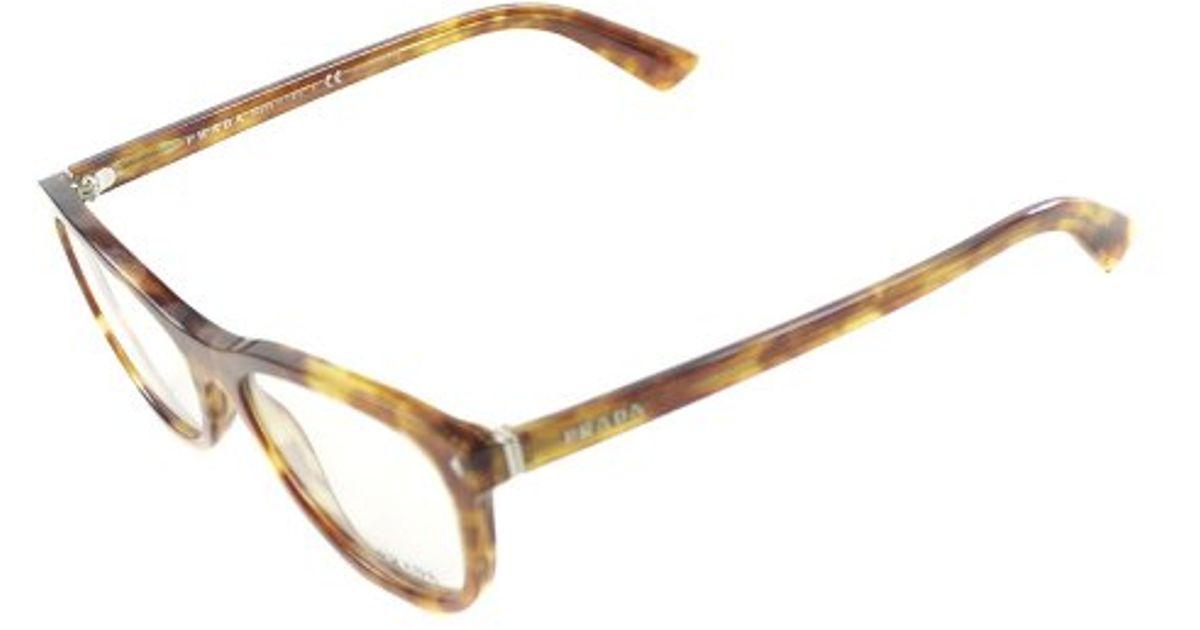 Prada Eyeglass Frames Cateye : Prada Pr 05rv 4bw1o1 Cat Eye Plastic Eyeglasses-53mm in ...