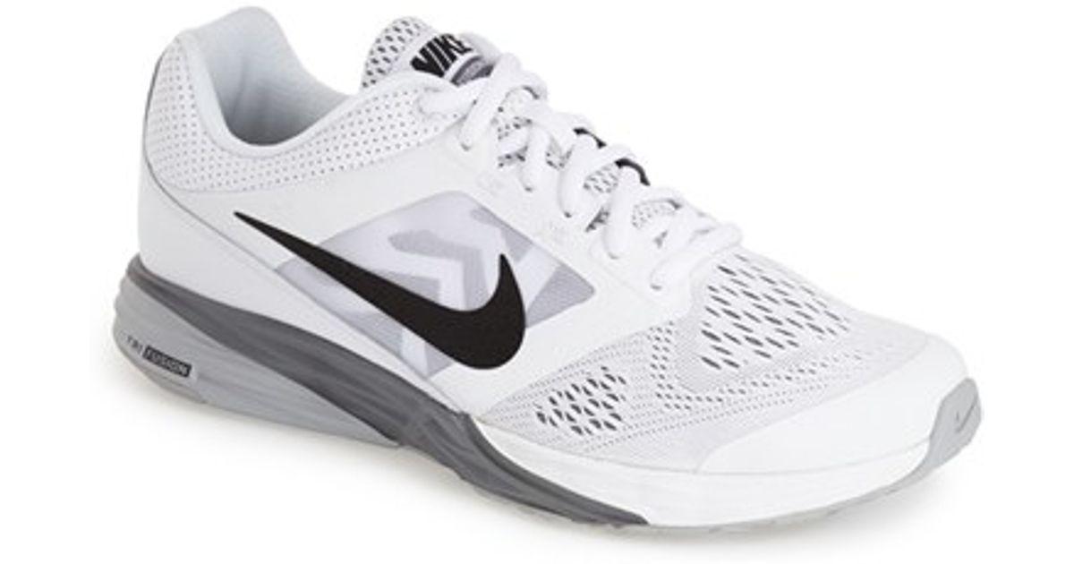 Lyst - Nike  tri Fusion Run  Running Shoe in White for Men 6d9c8324d