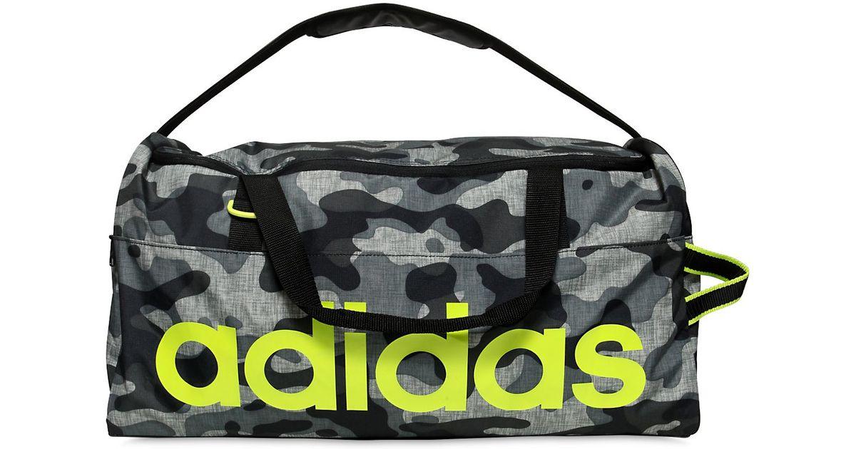 Lyst - adidas Originals Performance Camo Nylon Ripstop Gym Bag in Gray for  Men