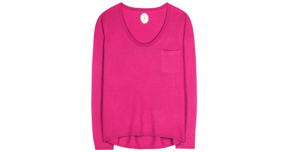 Jardin des orangers Cashmere Sweater in Pink | Lyst