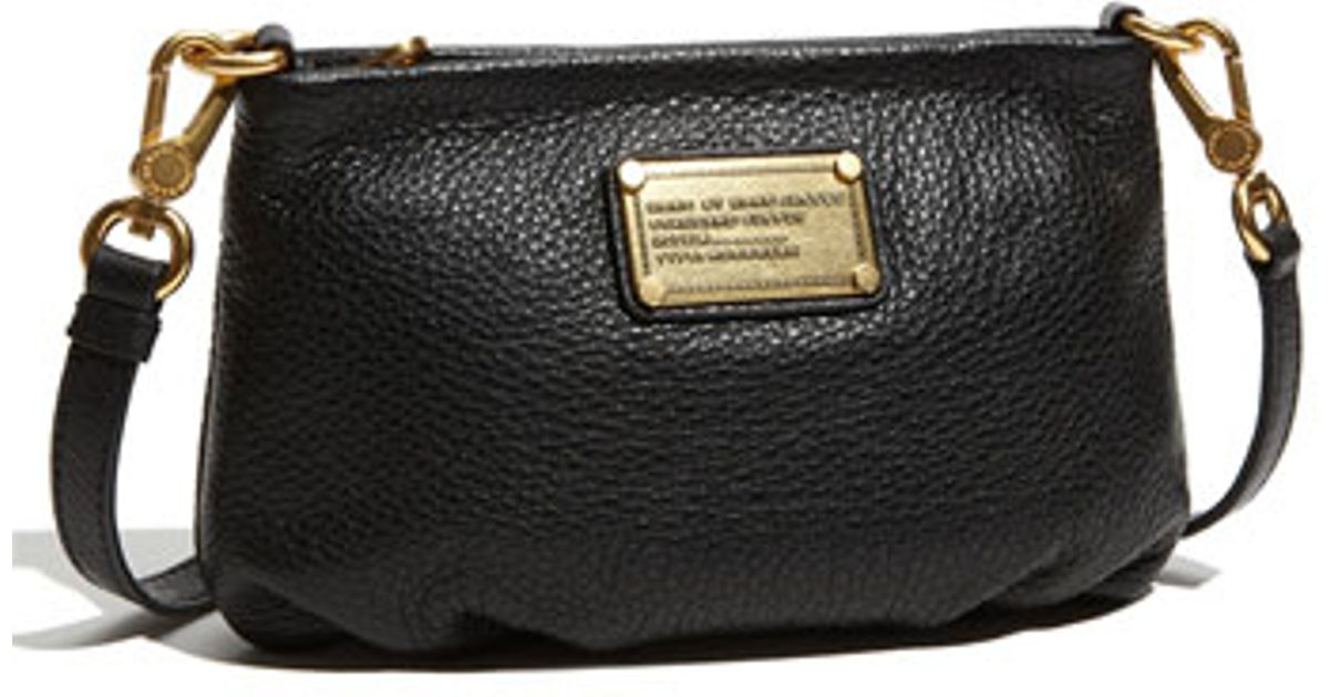 2a1d4df94c86 Lyst - Marc By Marc Jacobs  classic Q - Percy  Crossbody Bag in Black