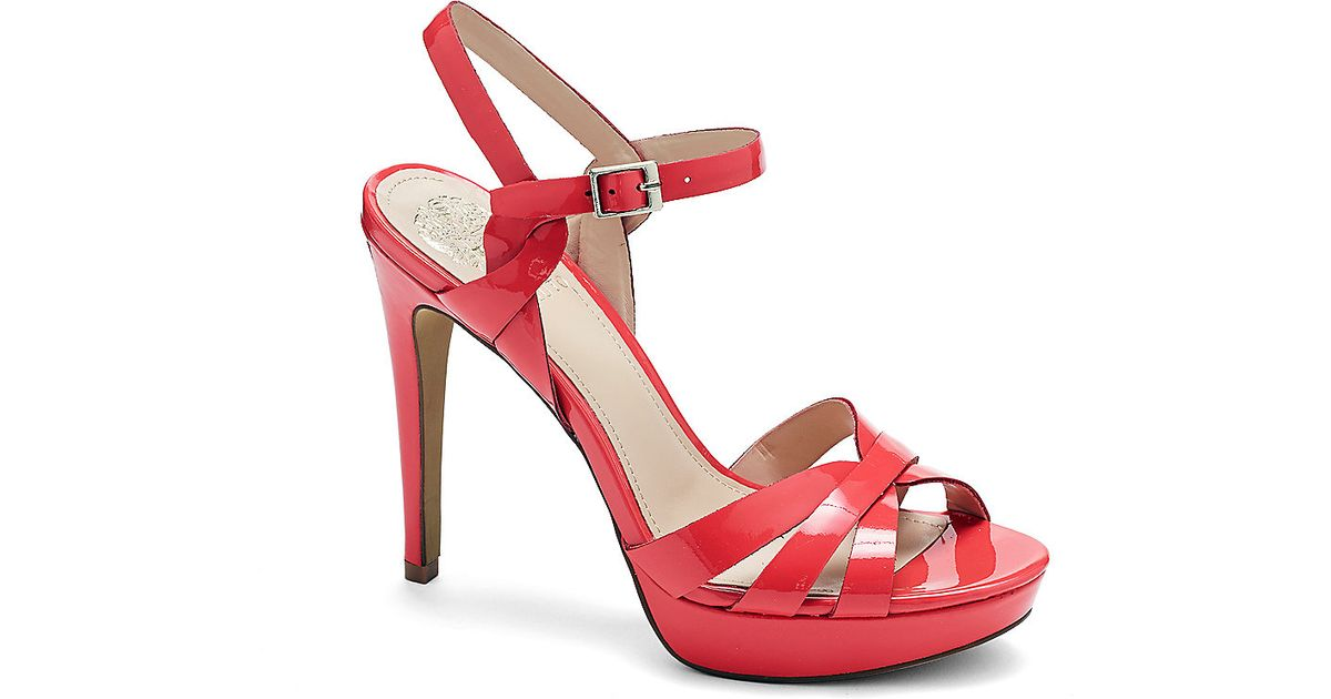 good looking offer discounts new appearance Vince Camuto Jessamae - Strappy Platform High Heel Sandal in Red ...