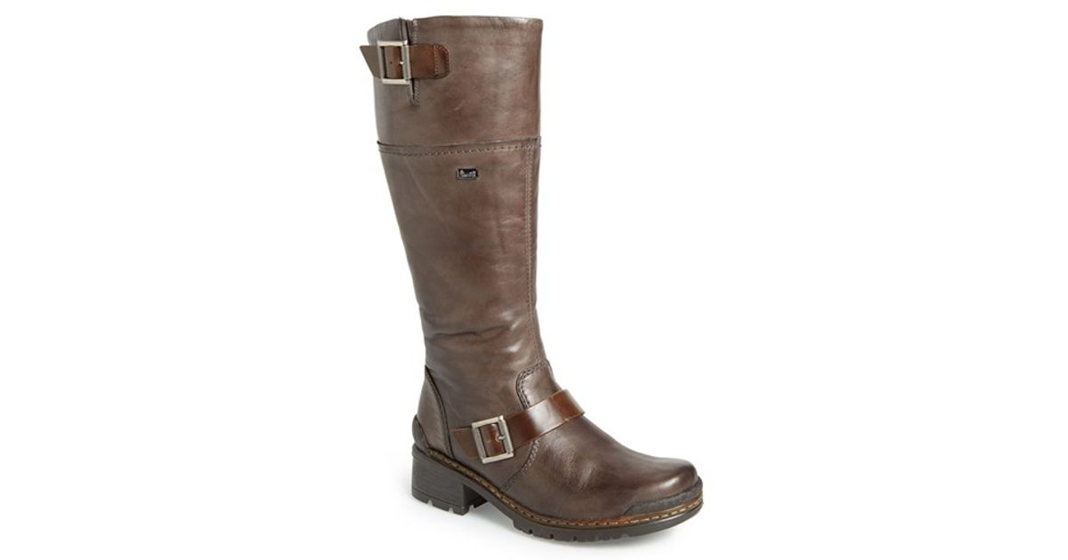 Rieker Antistress Sybille 85 Water Resistant Tall Boots In