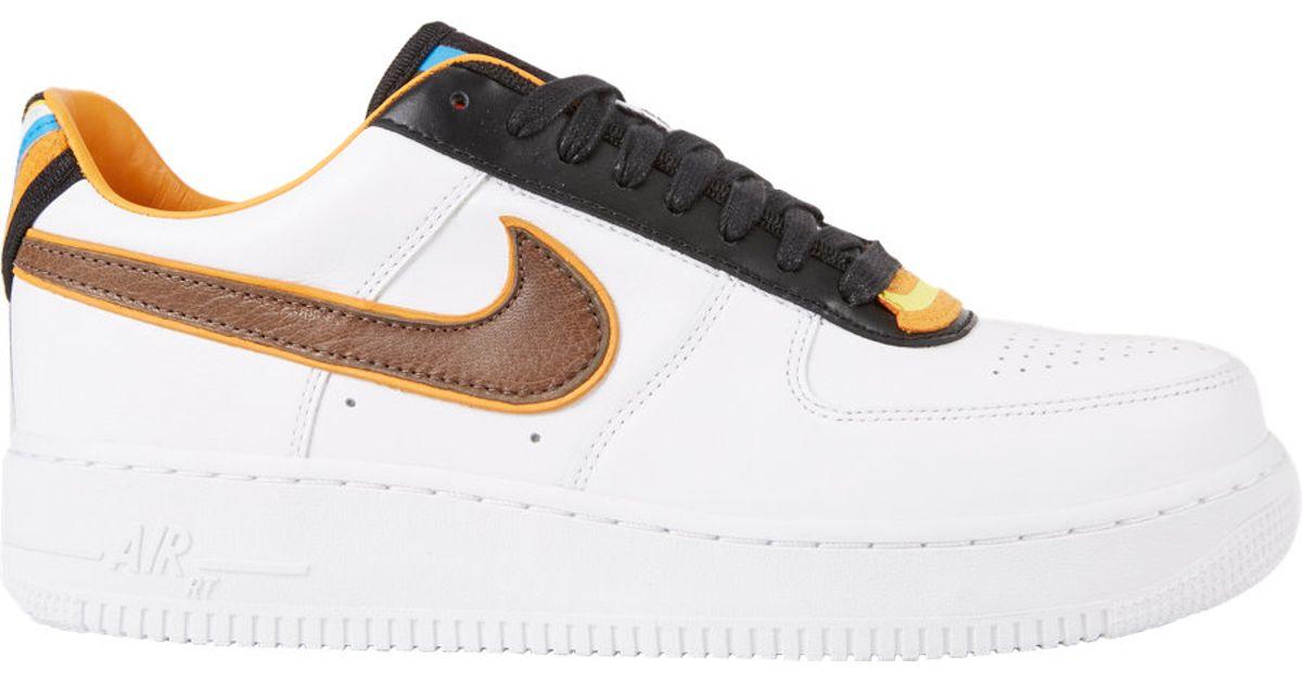 113c21f1659 Nike Men S Air Force 1 Rt Low Sneakers in Black - Lyst