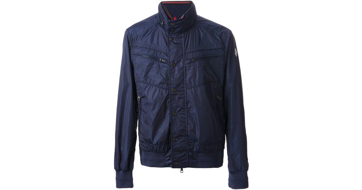 Moncler Blue Jacket for Theodore men 34ALjqR5