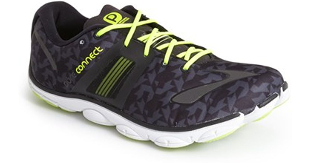 1e1c01db10b50 Lyst - Brooks  pure Connect 4  Running Shoe in Black for Men