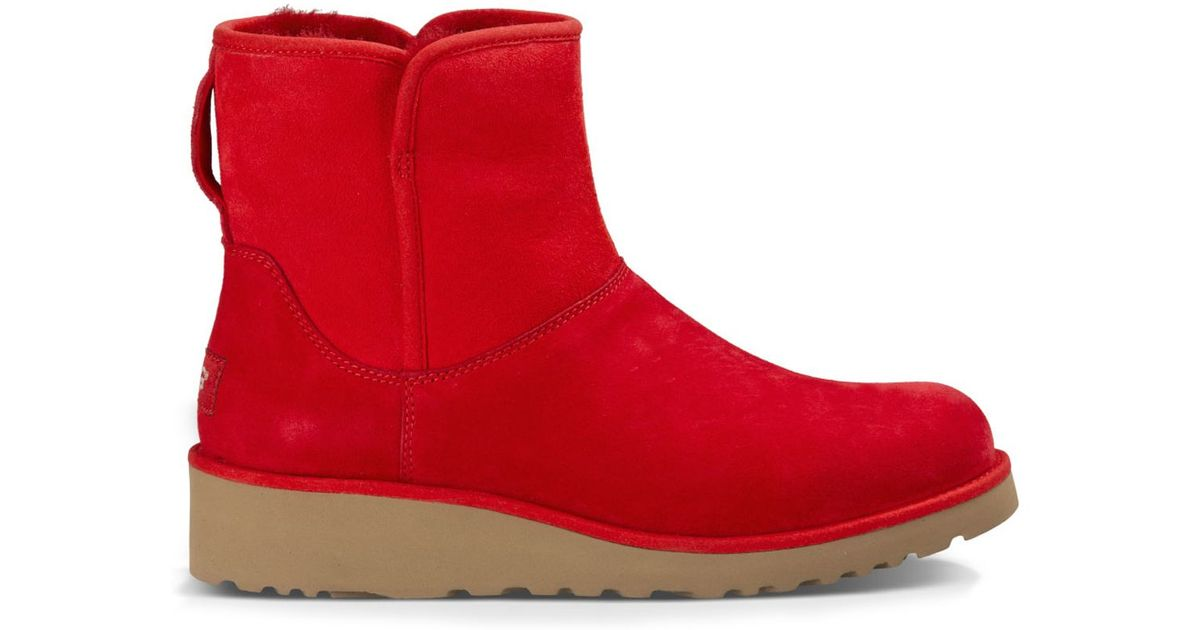 efedb369503 UGG Red Kristin Slim Ankle Booties