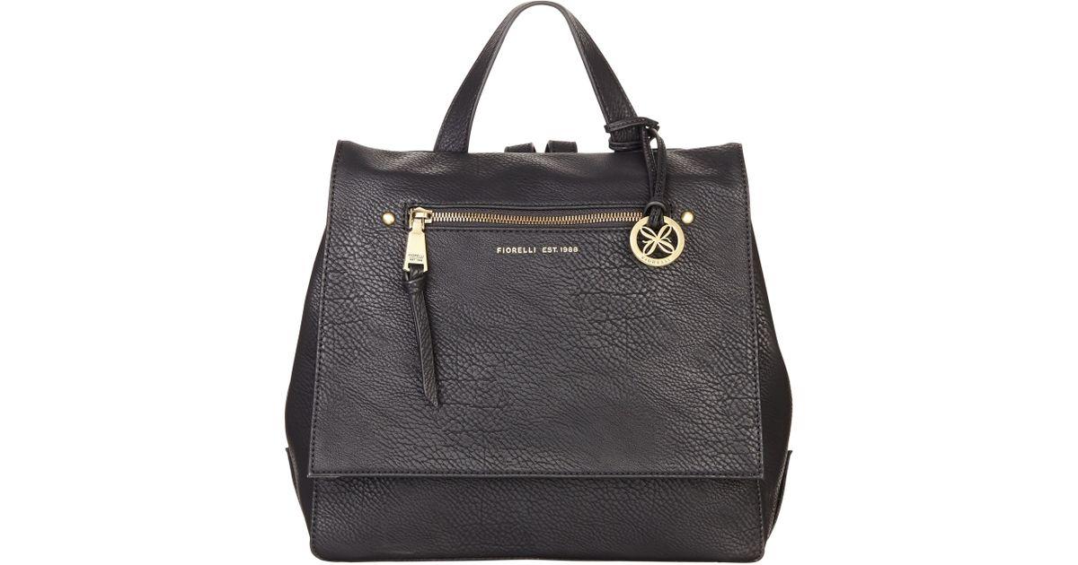 a80a7b56f949 Fiorelli Petra Backpack in Black - Lyst