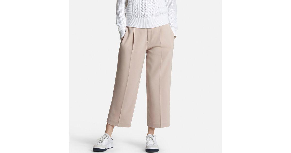 New UNIQLO WOMEN DENIM CROPPED LEGGINGS PANTS
