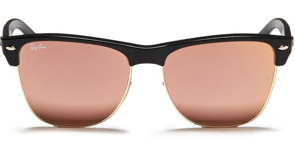 Ray Ban Synthetic Clubmaster Oversized Matte Plastic