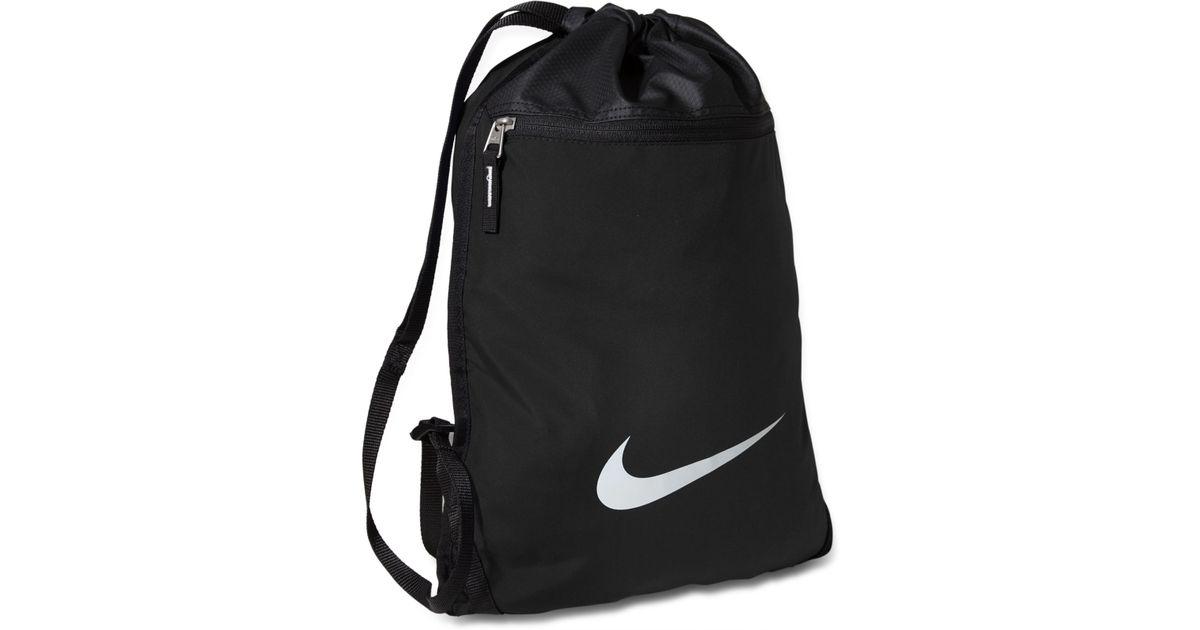 Lyst - Nike Team Training Gymsack Bag in Black for Men cee41c745c9df