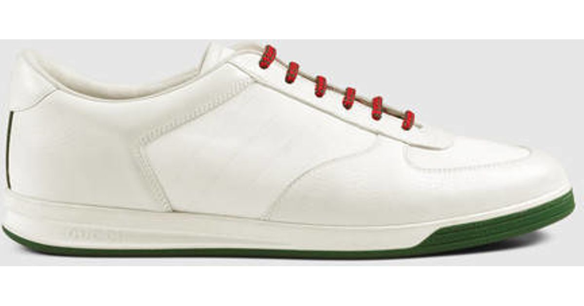 0ab39bad0 Gucci 1984 Leather Low-top Sneaker in White for Men - Lyst