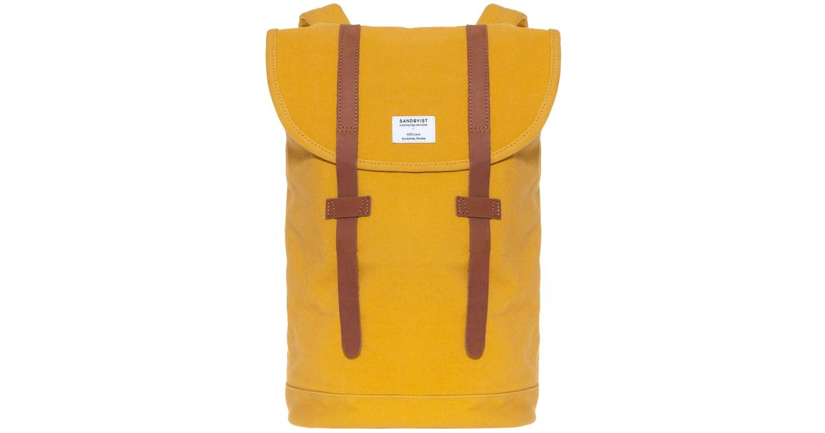 Toast Stig Backpack In Yellow For Men Lyst