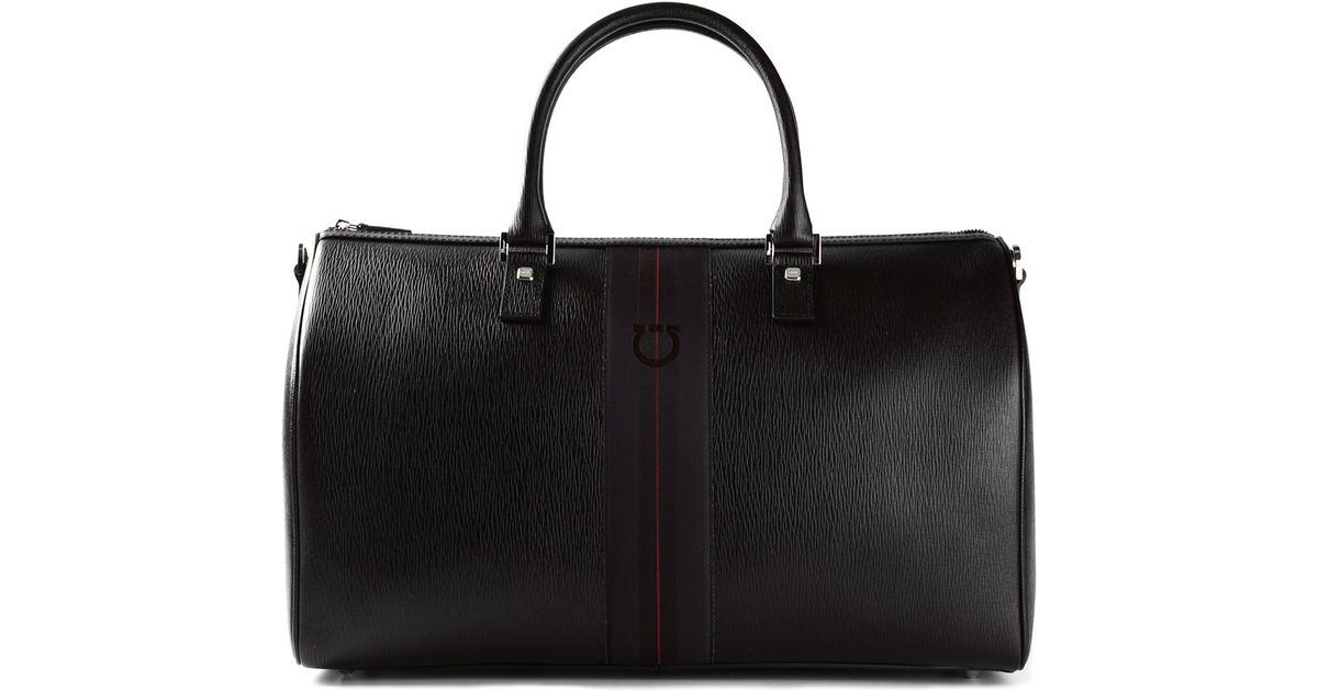 b1f98cca35 Lyst - Ferragamo Duffle Bag in Black for Men