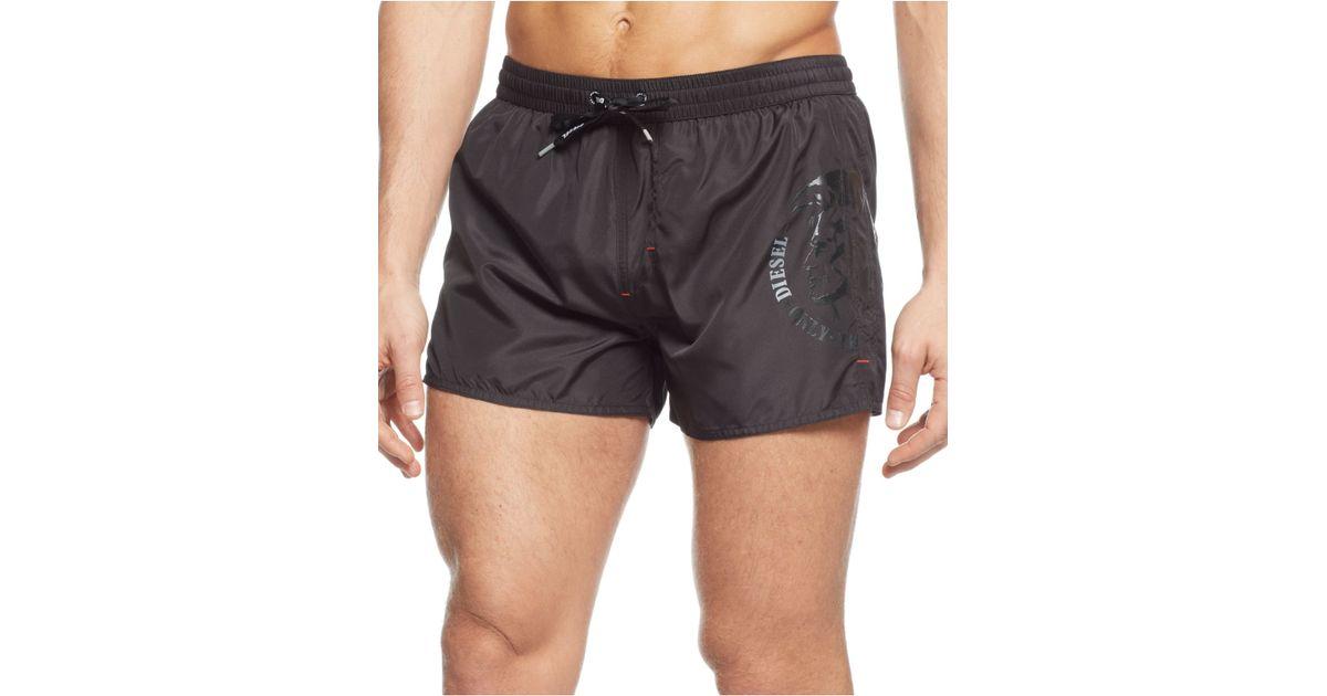 51b9b45cb15e2 DIESEL Bmbx-Coralrif Swim Trunks in Black for Men - Lyst