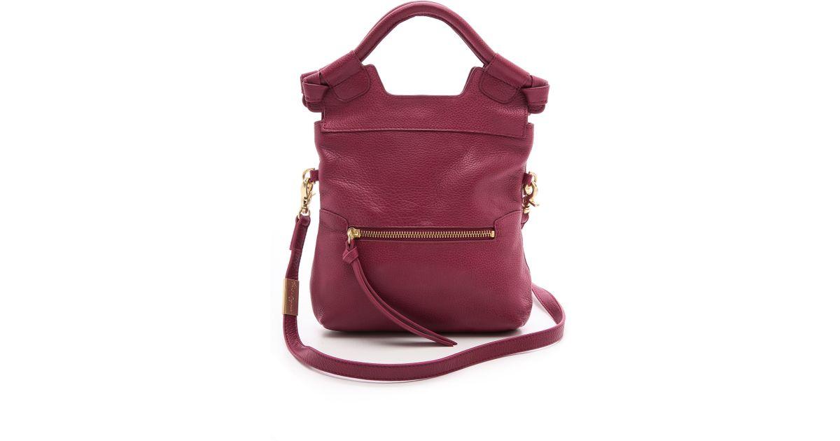 7c58a6f7c Foley + Corinna Foley Corinna Disco City Cross Body Bag Cranberry in Purple  - Lyst