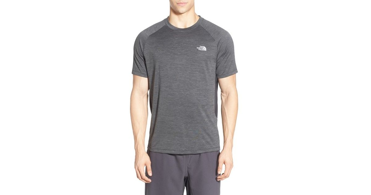 6c729f9ad The North Face Gray 'ambition' Flashdry(tm) T-shirt for men