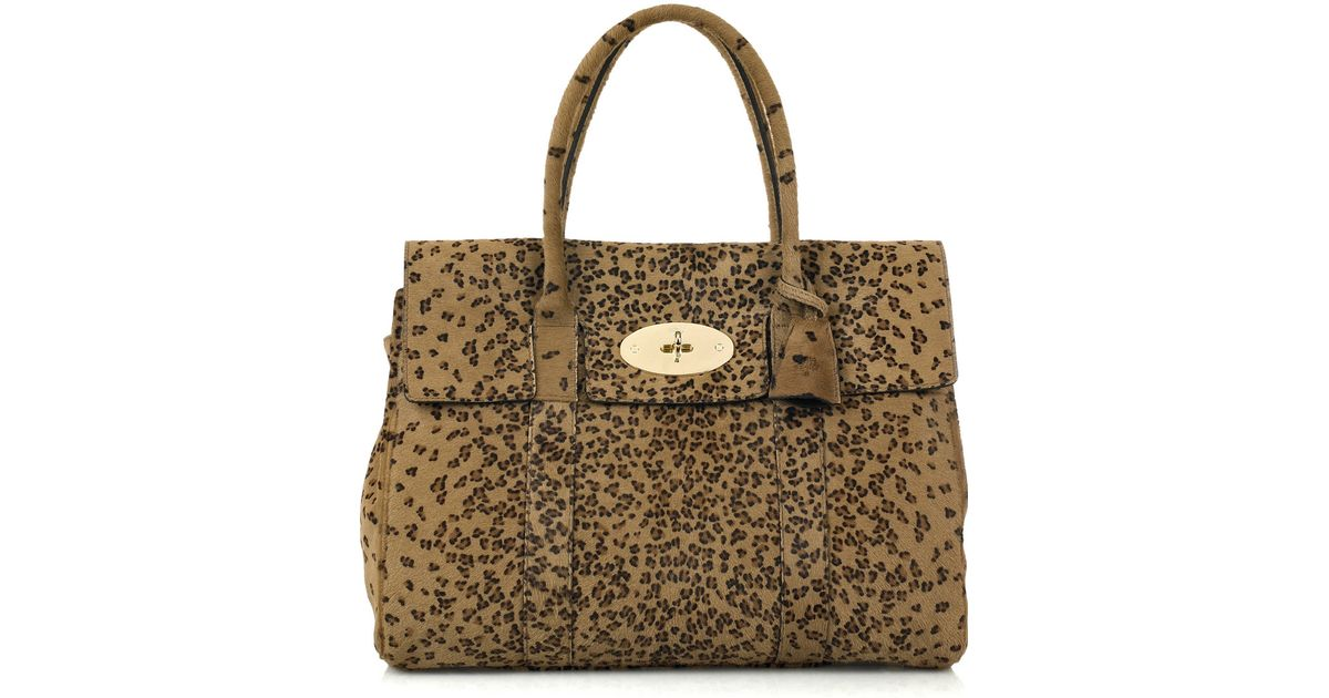... where can i buy lyst mulberry bayswater leopard print bag f522c 039ad 6a620ca611f2b