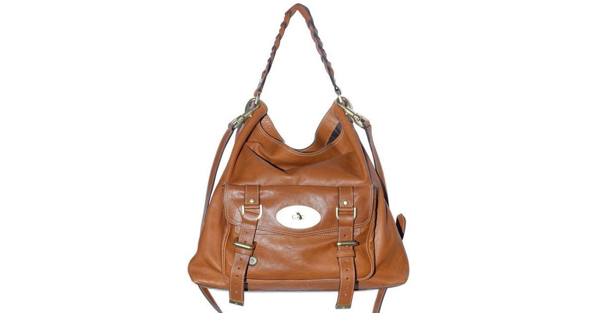 d82361c014 Lyst - Mulberry Alexa Hobo Bag in Brown