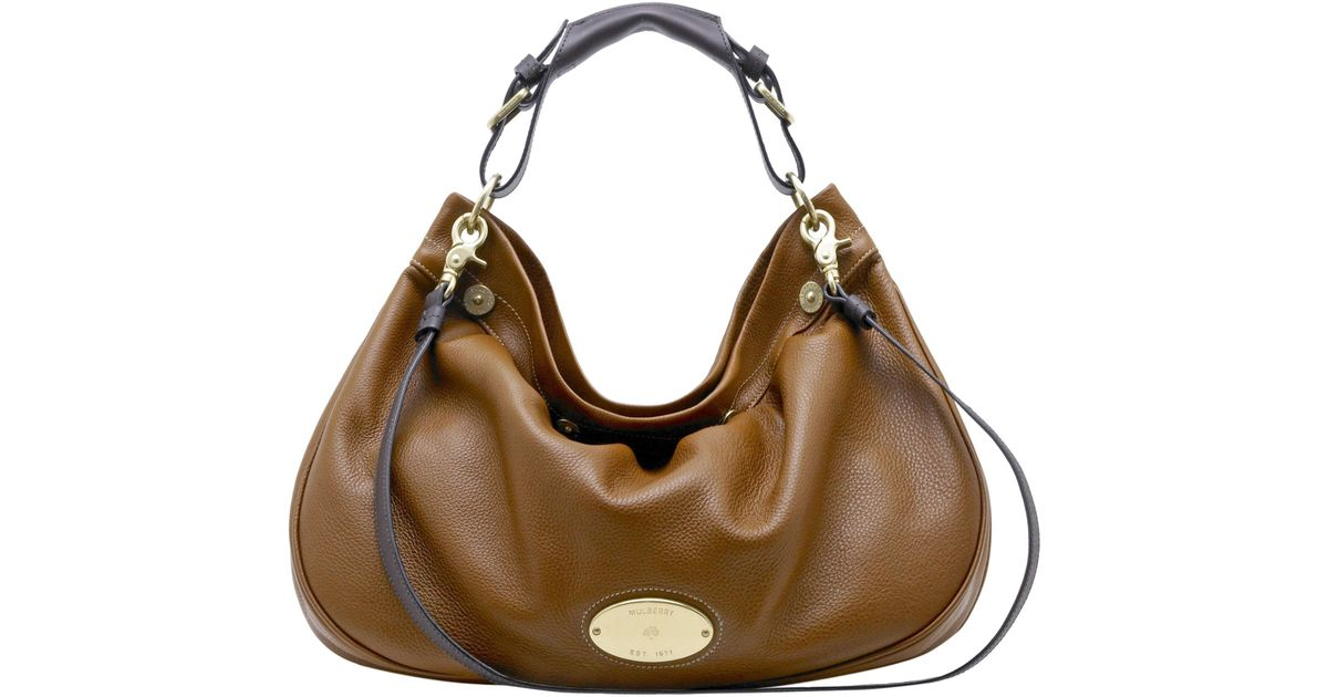 e02dcd9679 Mulberry Mitzy East West Hobo Bag in Brown - Lyst