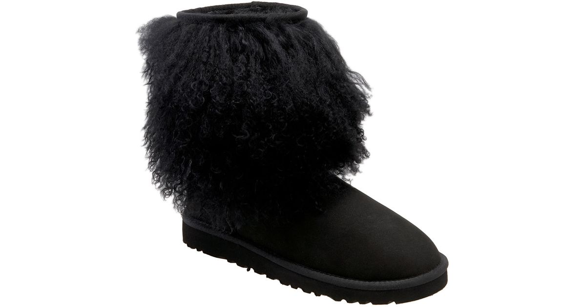 Ugg Shearling Boot In Black Save 38 Lyst