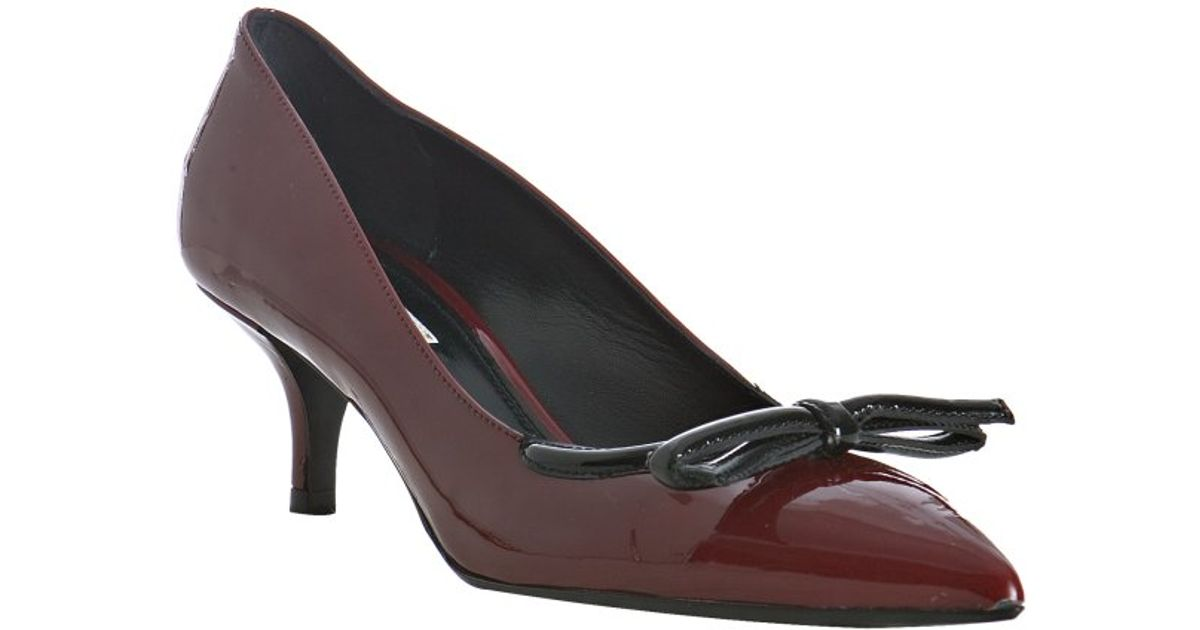 Prada Embellished Patent Pumps w/ Tags clearance 2014 newest great deals the cheapest jhmODxGJ8