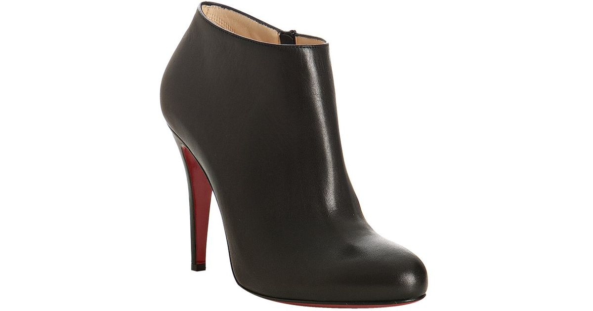 christian louboutin belle 100 ankle boots