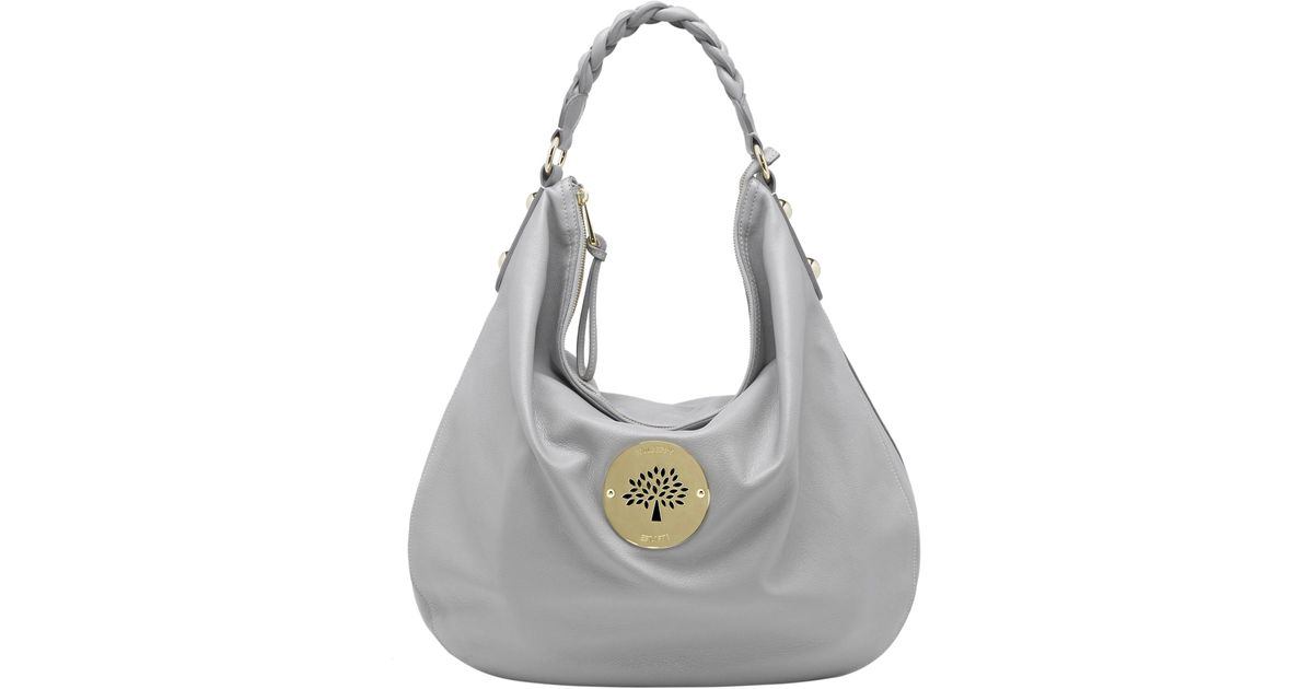 2eaf4e5774fd Mulberry Daria Hobo Bag in Gray - Lyst
