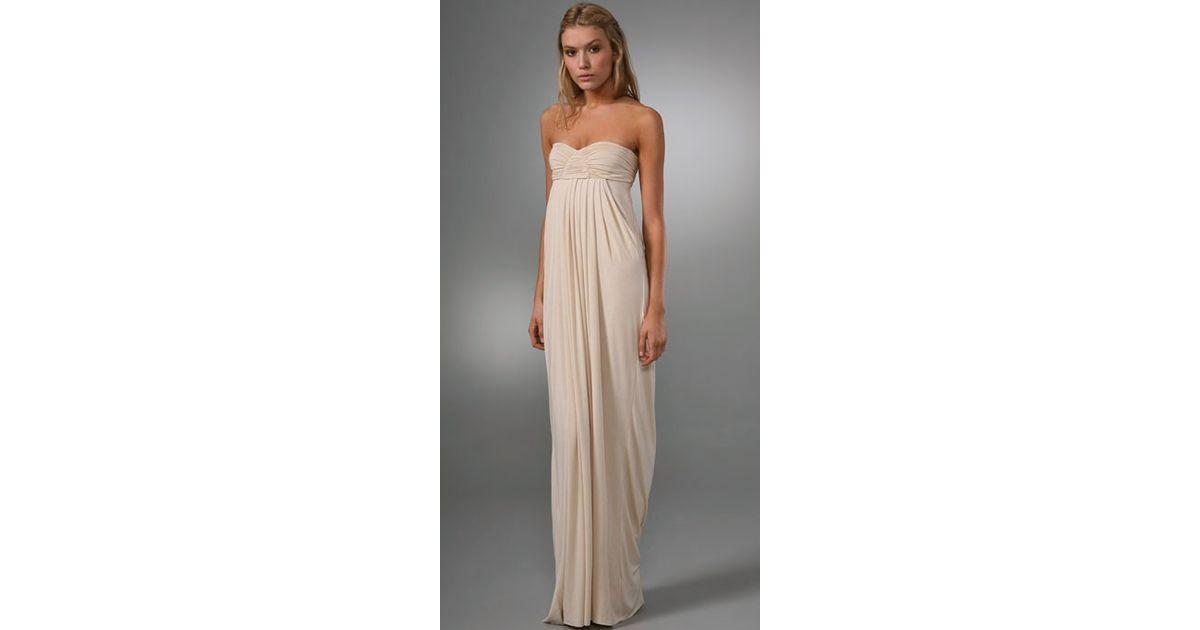 Rachel pally Long Fortuna Dress in Natural  Lyst