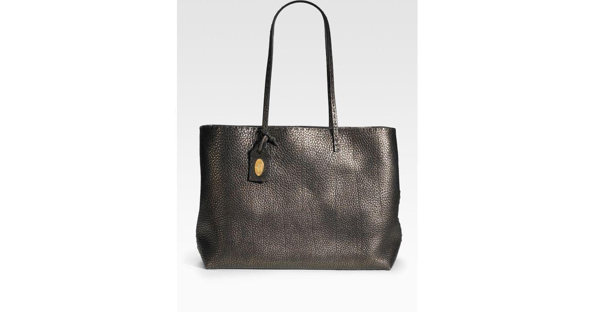 cheap lyst fendi selleria shopping tote in black 7d632 ecad2 a088dbb3b9852