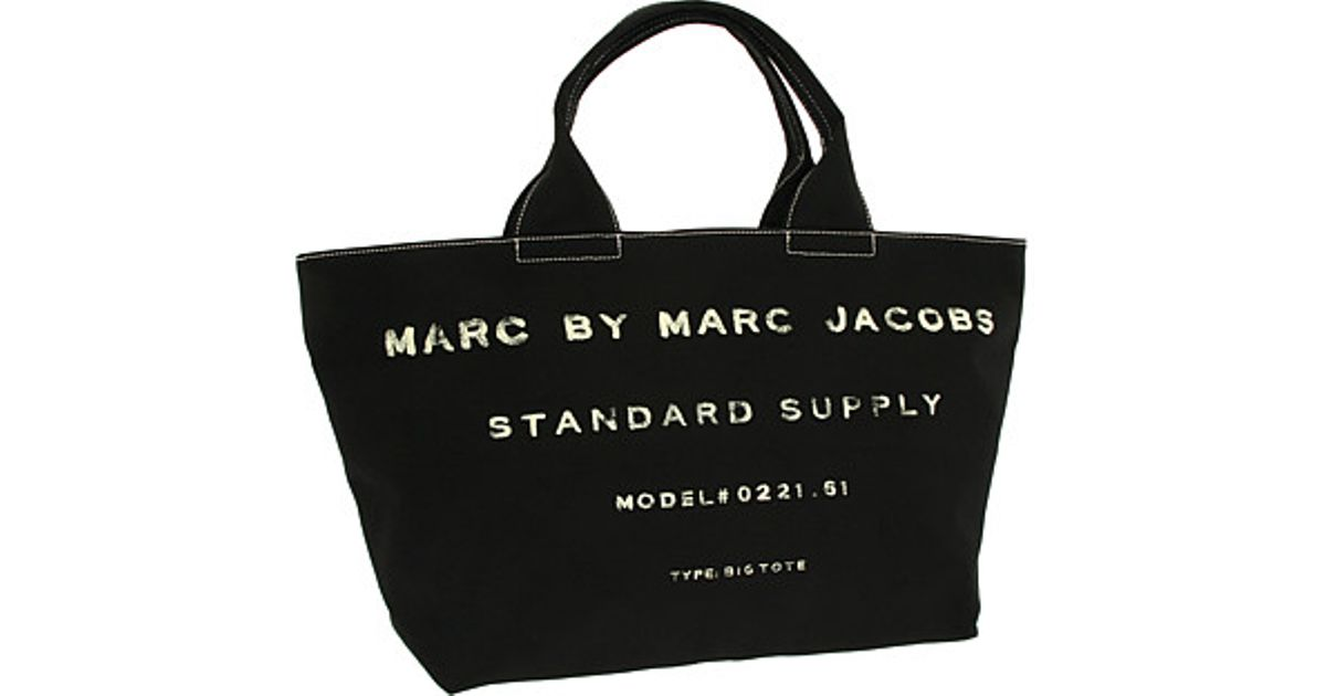 0ecf84ca2ea76 Marc By Marc Jacobs Classic Standard Supply Big Tote in Black - Lyst