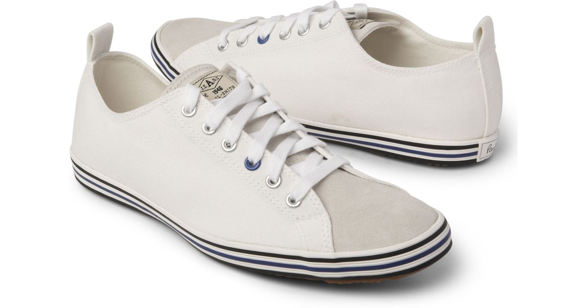 paul smith canvas trainers inexpensive