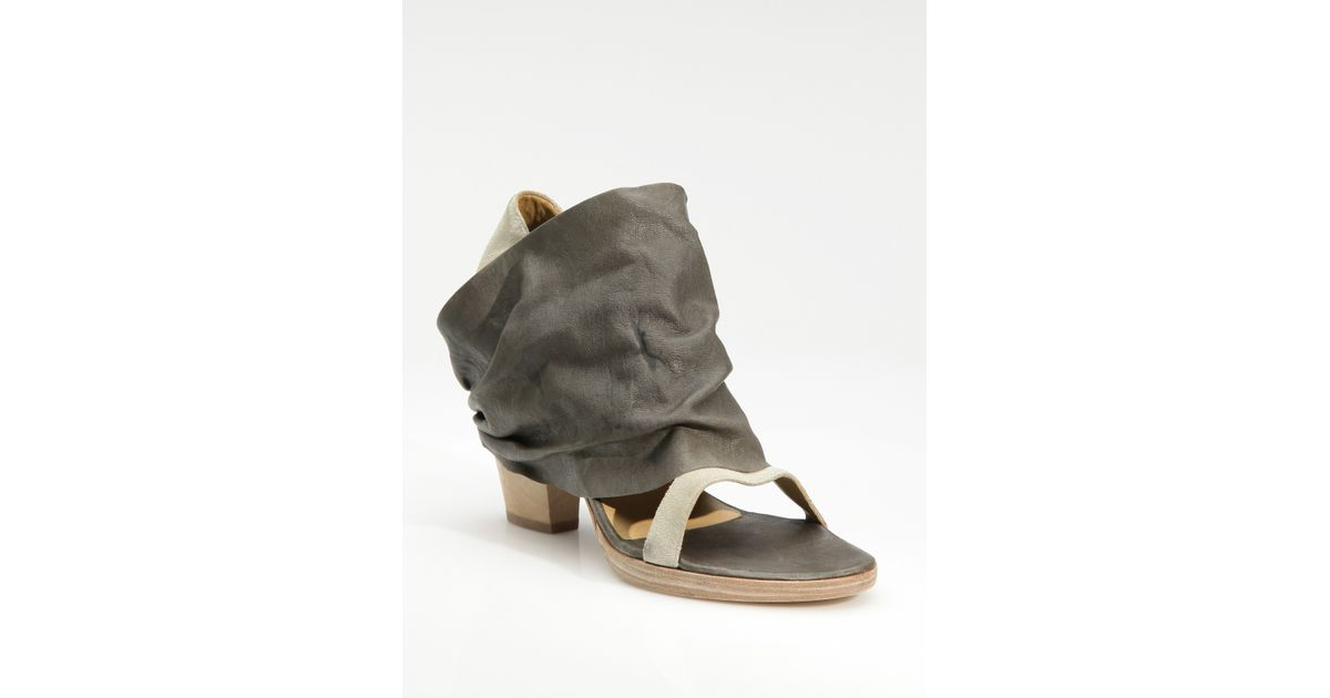 LD Tuttle Draped Leather Sandals free shipping visit new fashionable online sale Inexpensive Qf4ijn