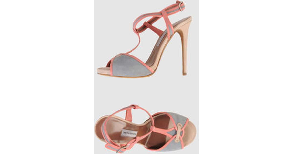 Tabitha Simmons Bailee Suede Sandals in
