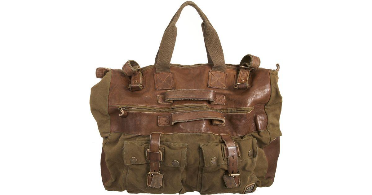 Belstaff Military Travel Bag in Green for Men - Lyst 62ffcb7c08e