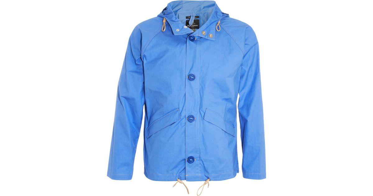 b29f4c06816b Nigel Cabourn Aircraft Jacket in Blue for Men - Lyst