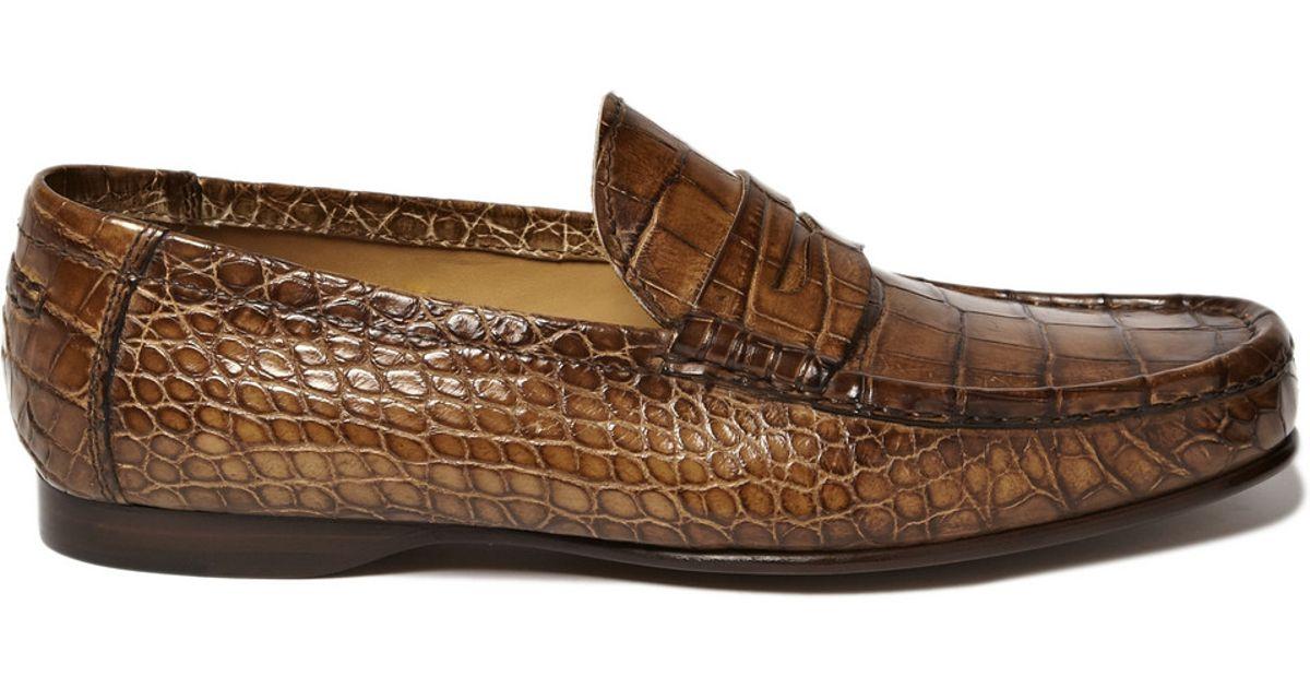 Ralph Lauren Alligator Leather Penny