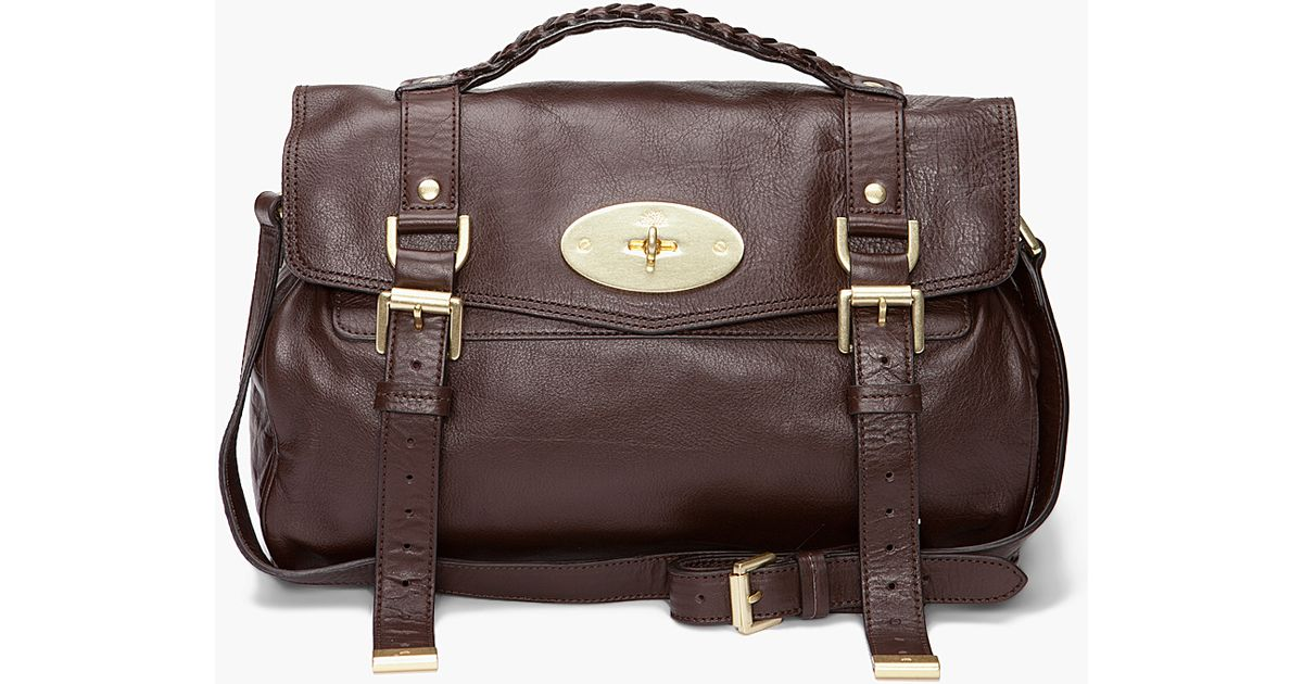 029dc2f438 Lyst - Mulberry The Alexa Bag in Brown