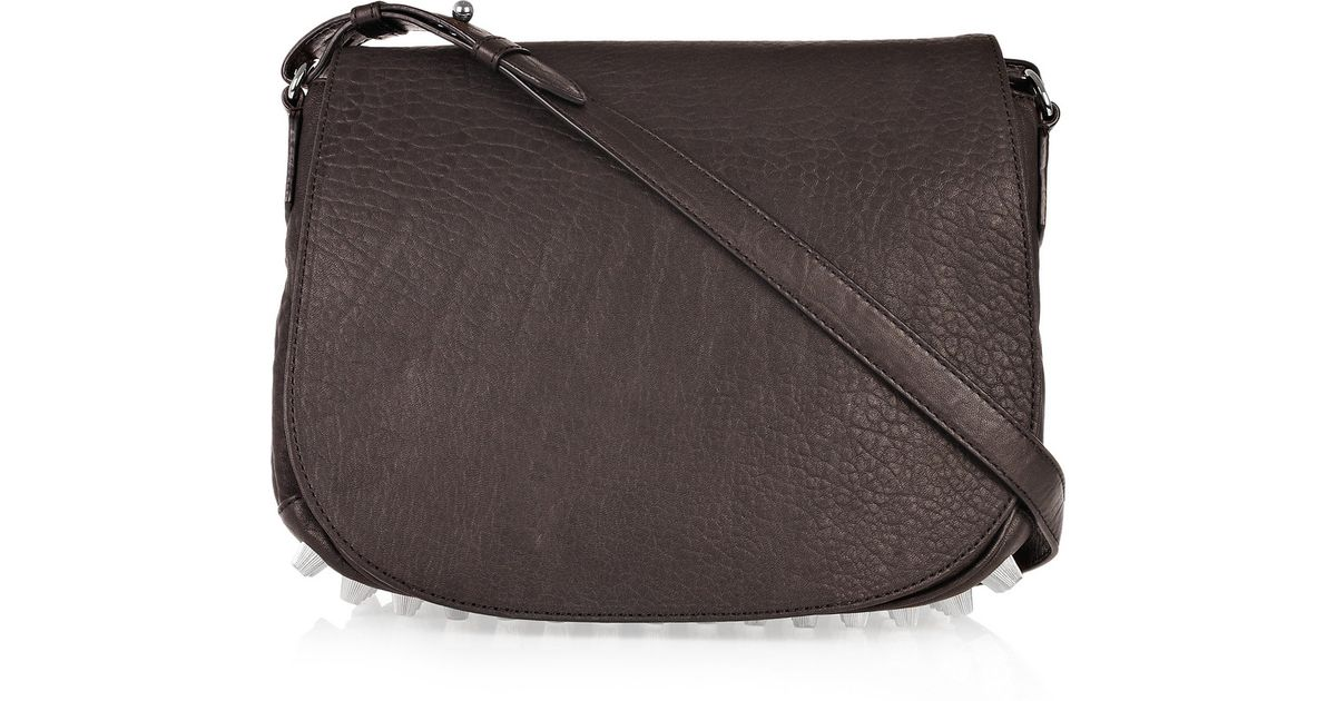 e705d8bf9 Alexander Wang Lia Crossbody Bag in Brown - Lyst