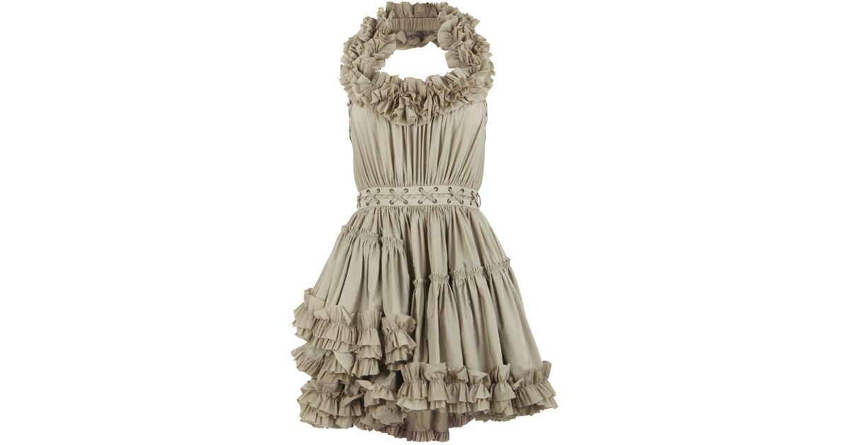 AllSaints Allegra Dress in Gray - Lyst ef6a42d9b