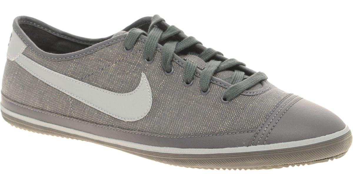 Álbum de graduación Senador Frotar  Nike Cotton Nike Flash Trainers in Grey (Gray) for Men - Lyst
