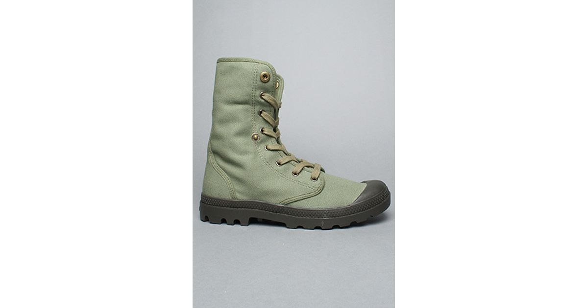 0562e8f33e9f Lyst - Palladium The Baggy Boot in Otan   Army Green in Green for Men