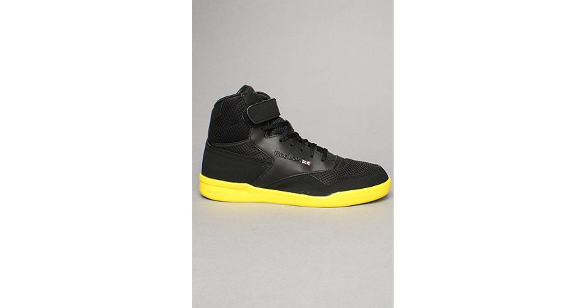 c40aef3e5e4 Lyst - Reebok The Exofit Plus Hi Ultralite Sneaker in Black in Black for Men