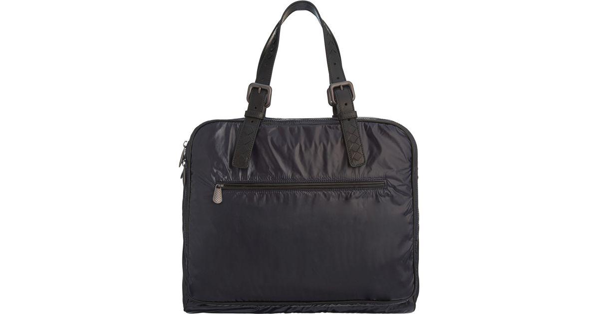 b614c491dccf Bottega Veneta Nylon Computer Bag in Blue for Men - Lyst