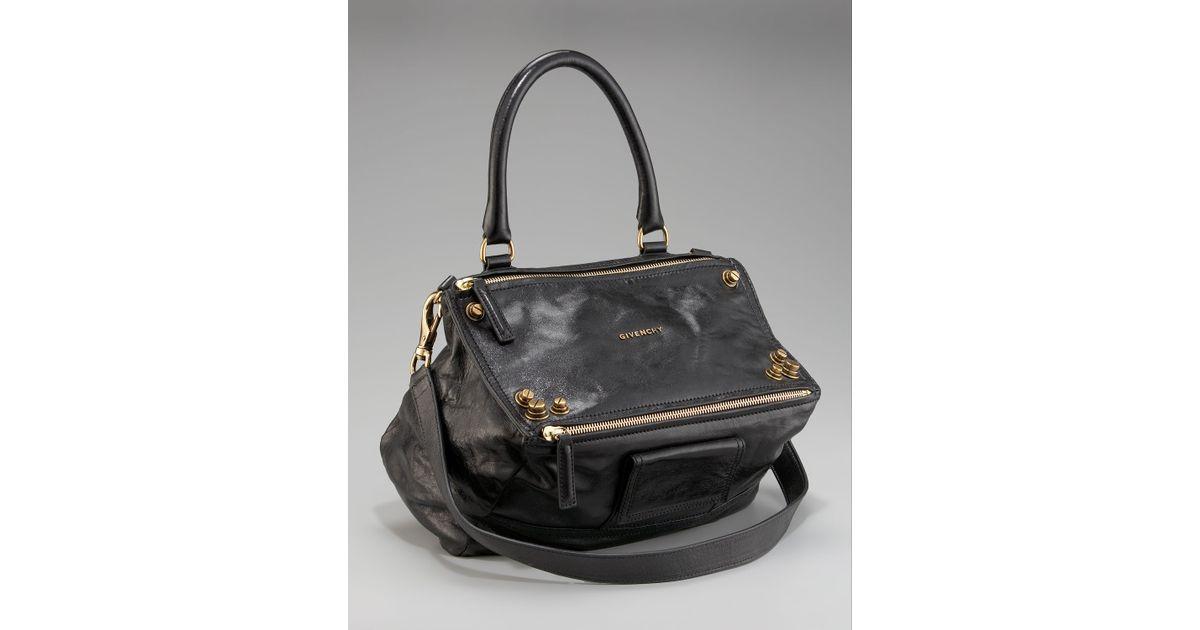5ae9aef8d11 Givenchy Medium Studded Pandora Shoulder Bag in Gray - Lyst