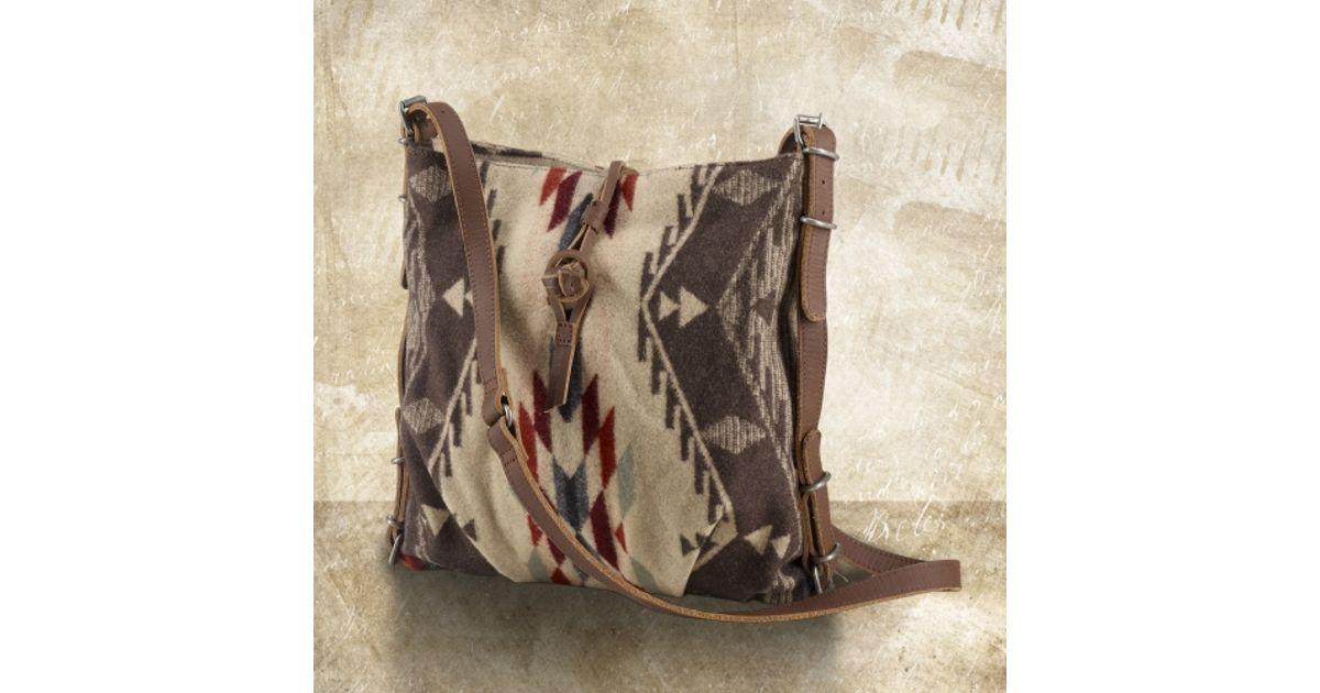 1234 d5c70 511f7 shopping ralph lauren navajo jacquard messenger bag in  natural lyst c069e ee343 ... e7468a36d5e0c