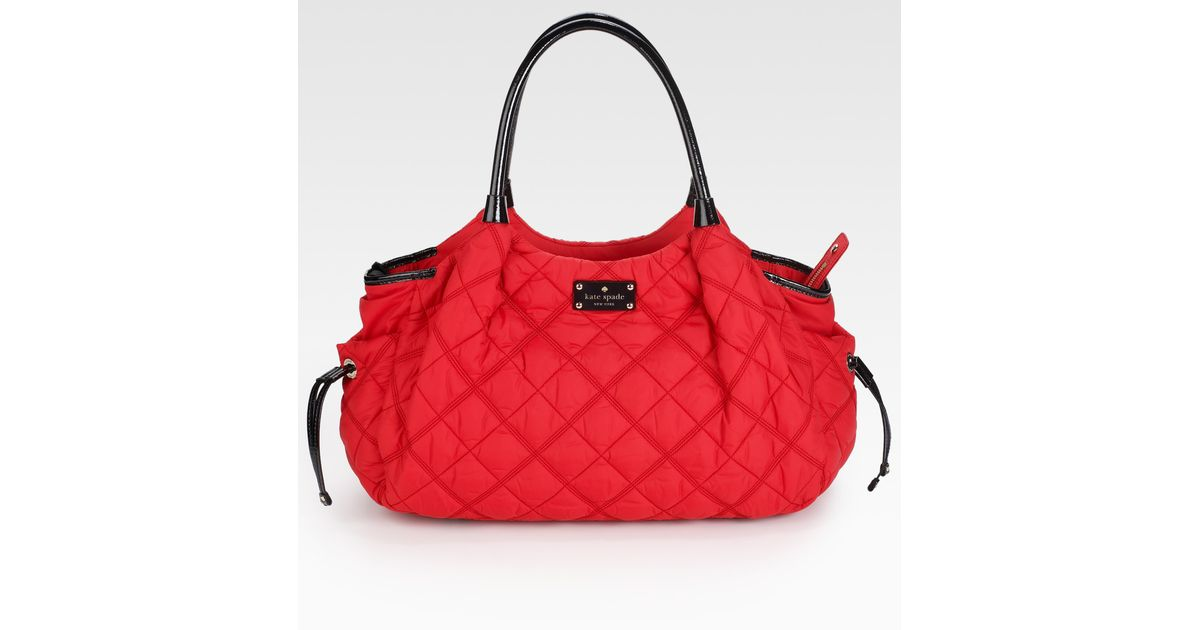 Kate Spade Stevie Quilted Baby Bag In